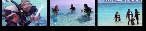 scuba diving instructor training in Malaysia